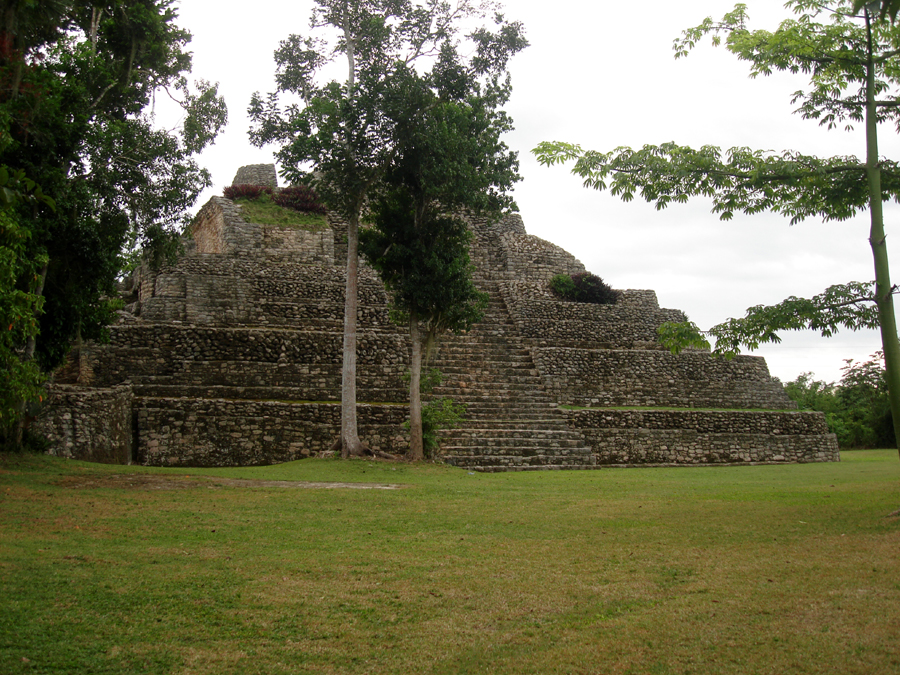 chacchoben excursion costa Maya