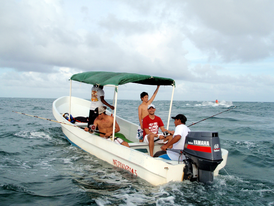 costa maya fishing excursion