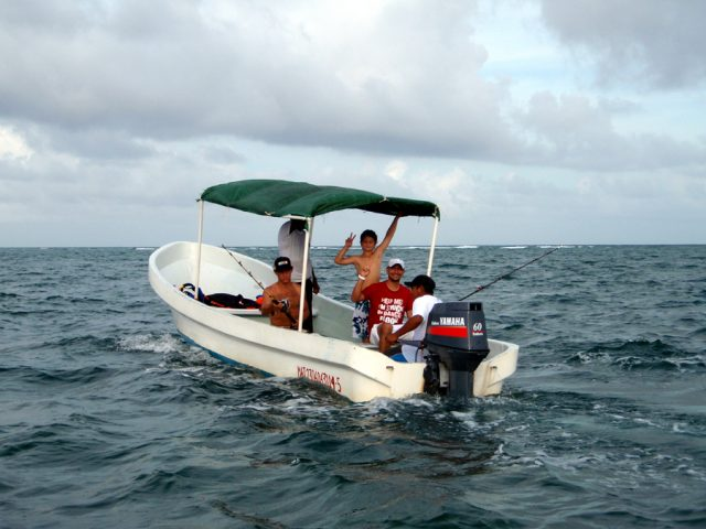 costa maya fishing charter excursion