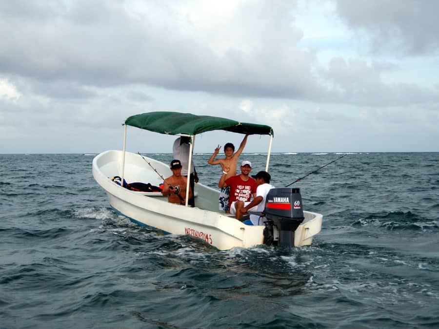 costa maya fishing charter excursion