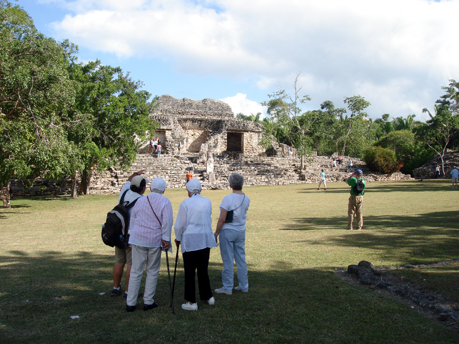 costa maya kohunlich Excursion