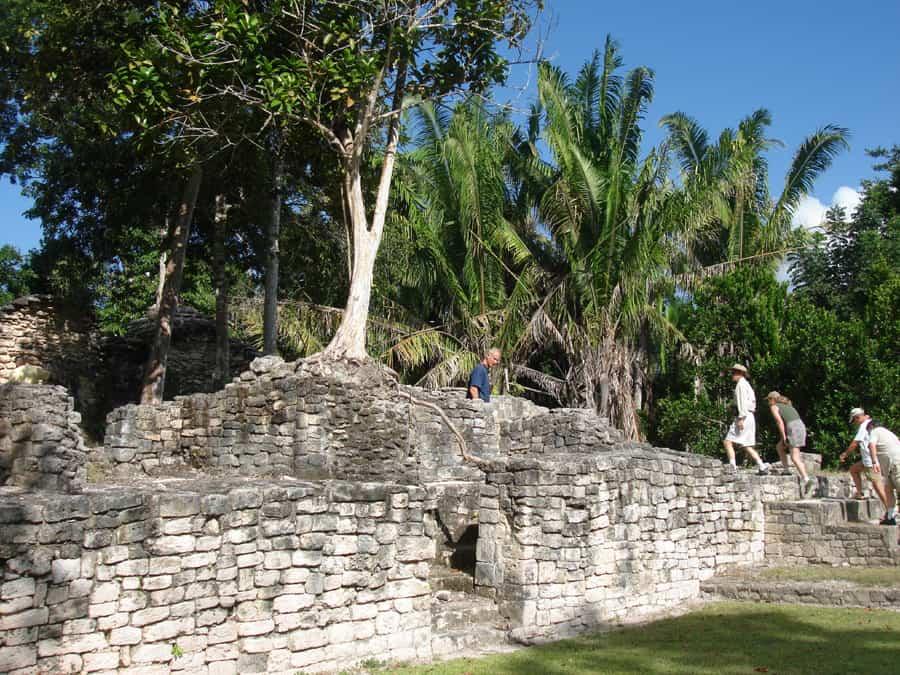 costa maya kohunlich Excursion