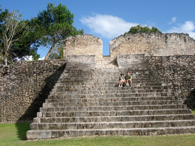 kohunlich costa maya Tour